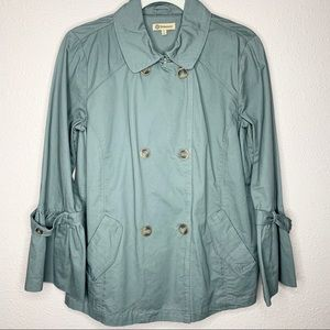 Nordstrom Democracy Utility Jacket w/ Bell Sleeve